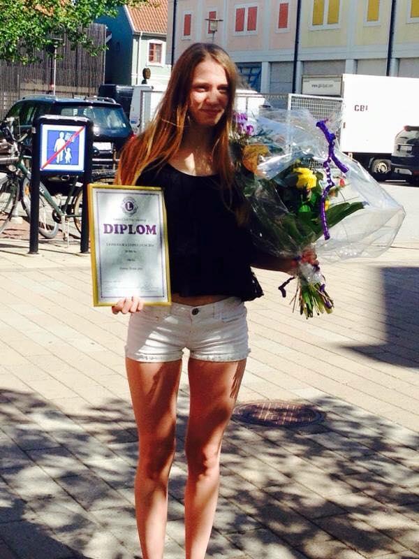 Emma Hennerfors fick Lions stora pris 2016 Grattis!