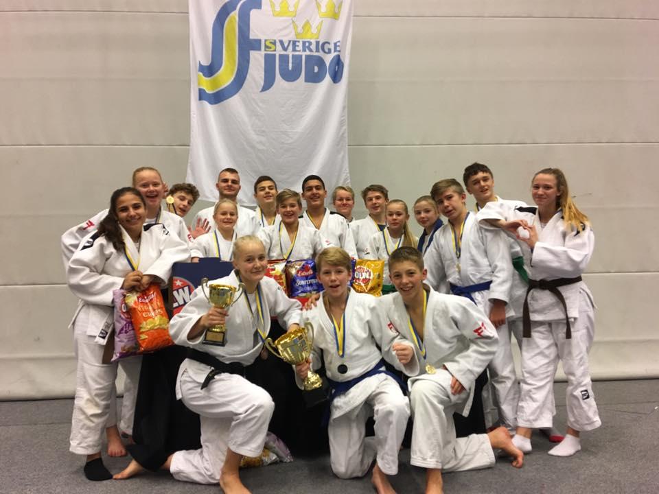 Guld och brons till JudoSyd i Riksmästerskapen för distriktslag 2016